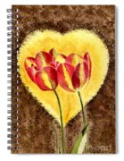 From Tulip With Love Spiral Notebook