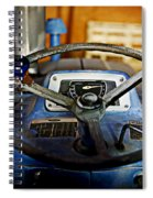 From Where I Sit Tractor Spiral Notebook