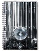 Front Grid Spiral Notebook