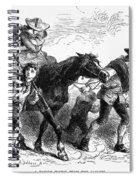 Frontier Family, 1755 Spiral Notebook