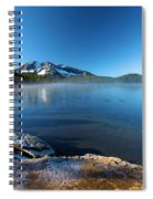 Frost On The Shore Spiral Notebook