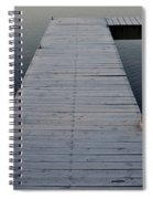 Frosted Dock Spiral Notebook