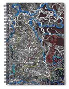 Frosted Oxygen Spiral Notebook
