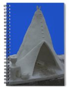 Frosted Tee Pee Spiral Notebook