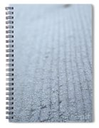 Frosted Woodgrain Spiral Notebook