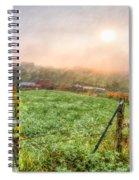 Frosty Morn Spiral Notebook