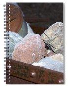 Frosty Rocks Spiral Notebook