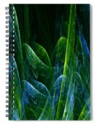 Frosty Trees Spiral Notebook