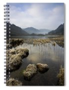 Frosty Winters Morning, Lower Lake Spiral Notebook