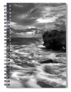 Frothy Seas Spiral Notebook