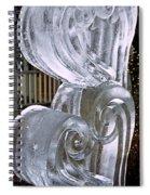Frozen Hearts Melt With Love Spiral Notebook
