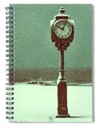 Frozen In Time Spiral Notebook