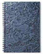 Frozen Pathways Spiral Notebook