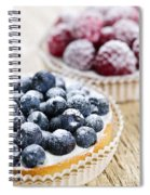 Fruit Tarts Spiral Notebook