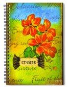 Fruits Of The Spirit Spiral Notebook