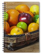 fruits with vitamin C Spiral Notebook