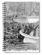 Fulton Ferry Boat, 1868 Spiral Notebook