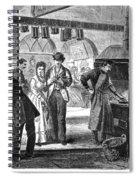 Fulton Fish Market, 1870 Spiral Notebook
