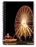 Fun At The Navy Pier Spiral Notebook