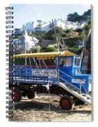Funky Ferry Landing Vehicle Spiral Notebook