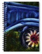 Funky Old Car Spiral Notebook