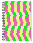 Funky Stripes Spiral Notebook