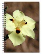 Funny Face Flower Spiral Notebook