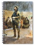 Fur Trader Spiral Notebook