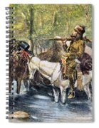 Fur Trapper Spiral Notebook