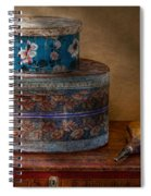 Furniture - Hat Boxes With Billow Spiral Notebook