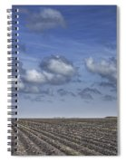 Furrows In A Texas Field Spiral Notebook