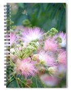 Furry Pink Bouquet Spiral Notebook