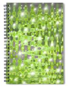 Future Forest Abstract Spiral Notebook