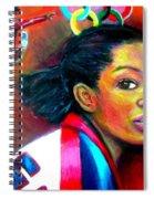 Gabby Douglas Spiral Notebook