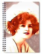 Gabrielle Ray Portrait  Spiral Notebook