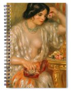 Gabrielle With Jewellery Spiral Notebook