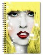 Gaga Spiral Notebook