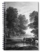 Gainsborough: Scenic View Spiral Notebook