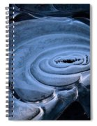 Galactic Ice Spiral Notebook