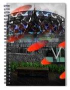 Galactus Spiral Notebook