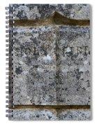 Galatians 5 22 Spiral Notebook