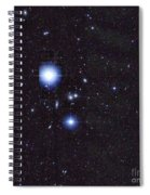 Galaxy Cluster Abell 1060, Infrared Spiral Notebook