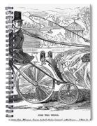 Gallant Admirers, 1869 Spiral Notebook