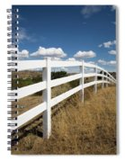 Galloping Fence Spiral Notebook