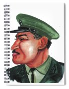Gamal Abder Nassal Spiral Notebook