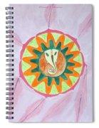 Ganesh Mandala Spiral Notebook