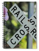 Garden Crossing Spiral Notebook