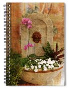 Garden Deco Spiral Notebook