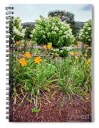Garden Delight Spiral Notebook