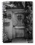 Garden Doorway 2 Spiral Notebook